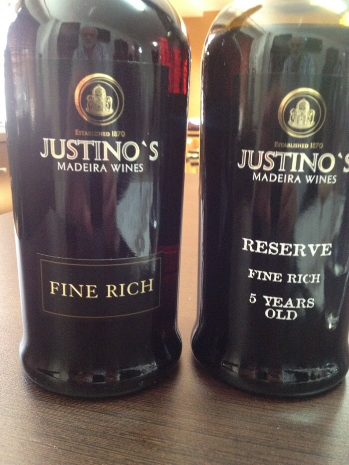 3 Years Fine Rich & 5 Years Reserve Fine Dry © Blend All About Wine, Lda. Justino's - Madeira Wine Tasting Justino's - Madeira Wine Tasting FOTO 2