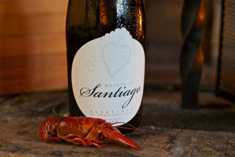 Blend_All_About_Wine_Quinta_do_Santiago_Crayfish Quinta de Santiago meets Crayfish Quinta de Santiago meets Crayfish Blend All About Wine Quinta do Santiago Crayfish