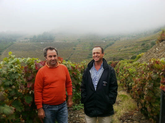 Luis Sottomayor with Vitorino at Q do porto a supplier photo credit Sarah Ahmed166