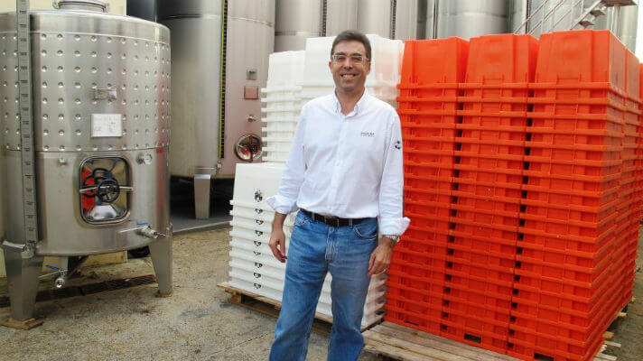 Blend_All_About_Wine_Madeira_Vintners_Paul_Mendes_with_30kg_(small)_harvesting_boxes