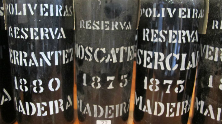 Photo Credit Sarah Ahmed Pereira d'Oliveira - the oldest madeiras tasted