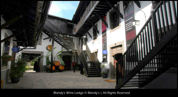 Blandy's Wine Lodge © Blandy's | All Rights Reserved madeira Madeira Blandys Wine Lodge2 Text