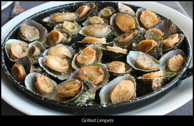 Grilled Limpets