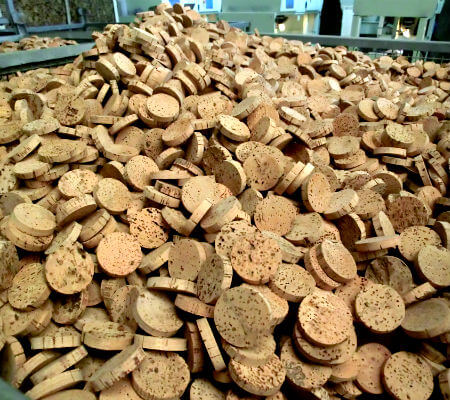 Blend-All-About-Wine-How-Cork-Are-Produced-Today-Cork-Discs-2 as - cork AS - Cork, How corks are produced today Blend All About Wine How Cork Are Produced Today Cork Discs 2