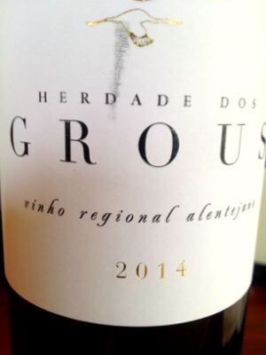 Herdade dos Grous m2014 White Um Projecto Vencedor no Alentejo Profundo Um Projecto Vencedor no Alentejo Profundo Blend All About Wine Herdade dos Grous 2014 White