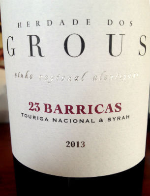 Herdade dos Grous 23 Barricas de 2013 Um Projecto Vencedor no Alentejo Profundo Um Projecto Vencedor no Alentejo Profundo Blend All About Wine Herdade dos Grous 23 Barricas de 2013
