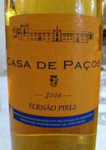 Blend-All-About-Wine-Old-Wines-From-Casa-de-Paços-Casa-de-Paços-Fernão-Pires-2008