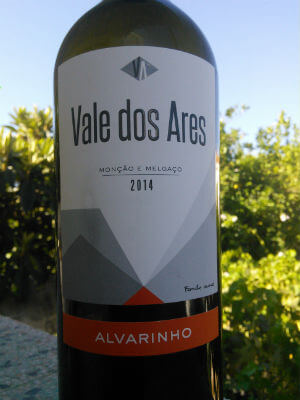 Blend-All-About-Wine-Vale dos Ares 2014 vale dos ares Vale dos Ares um Alvarinho Consensual Blend All About Wine Vale dos Ares 2014