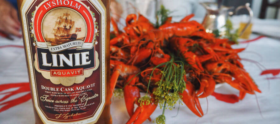 Blend-All-About-Wine-Craving-for-cray-fish-Linie-Double-Cask -Aquavit