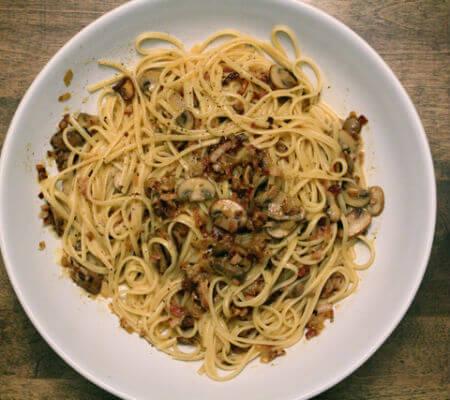 Blend-All-About-Wine-Esparguete com Cogumelos esparguete com cogumelos Esparguete com Cogumelos Blend All About Wine Esparguete com Cogumelos