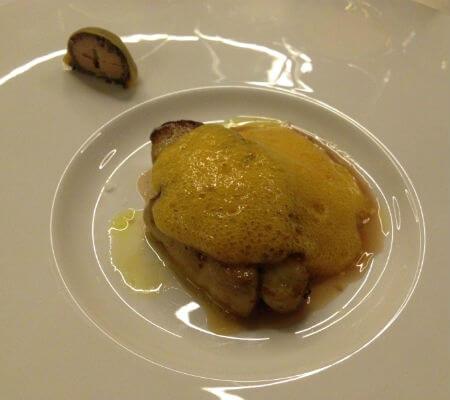 Blend-All-About-Wine-Narcissus Fernandesi Restaurant-Foie-Gras
