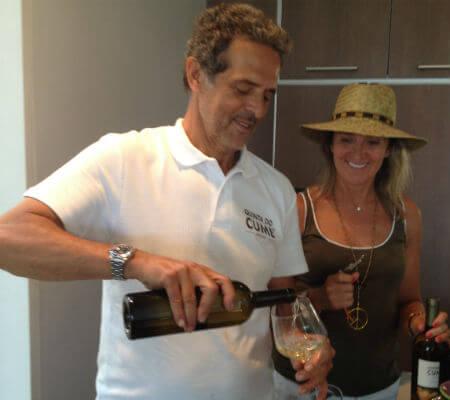 Blend-All-About-Wine-Quinta do Cume-Jorge-Tenreiro quinta do cume Quinta do Cume looking down at Provesende... Blend All About Wine Quinta do Cume Jorge Tenreiro