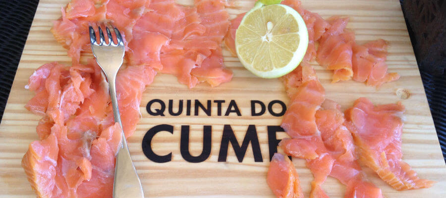 Blend-All-About-Wine-Quinta do Cume-salmon quinta do cume Quinta do Cume, com Provesende a seus pés... Blend All About Wine Quinta do Cume salmon