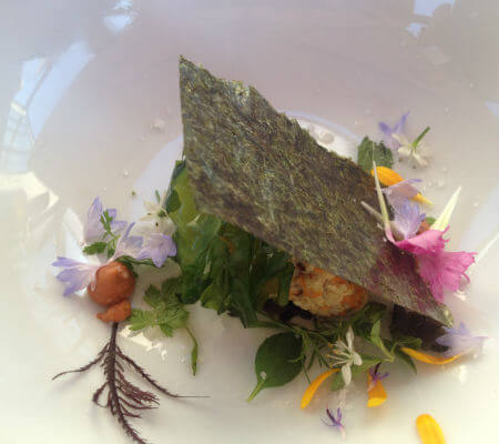 Blend-All-About-Wine-Areia Restaurant Barl-1st-dish