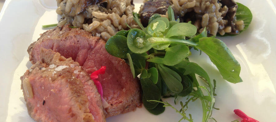 Blend-All-About-Wine-A Delicious Meal-Borrosa meat