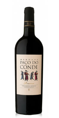 Blend-All-About-Wine-Herdade-Paço do Conde-red-reserva herdade paço do conde Herdade Paço do Conde, do Alentejo mais alentejano Blend All About Wine Herdade Pa  o do Conde red reserva