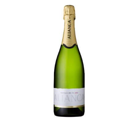 Blend-All-About-Wine-Aliança-Vintage-Sparkling-Bruto-2010 aliança Uma aliança entre o vinho e a arte, no coração da Bairrada Blend All About Wine Alian  a Vintage Sparkling Bruto 2010