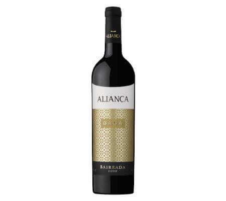 Blend-All-About-Wine-Aliança-tinto-Baga-2009 aliança Uma aliança entre o vinho e a arte, no coração da Bairrada Blend All About Wine Alian  a tinto Baga 2009