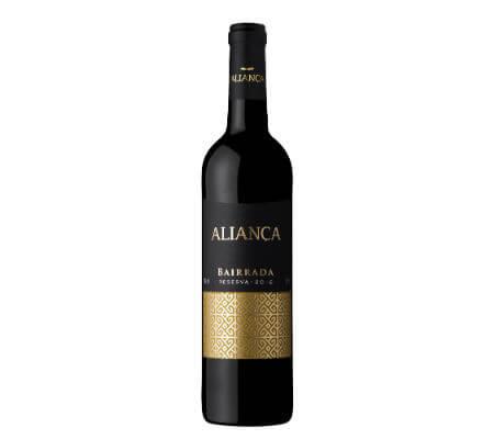 Blend-All-About-Wine-Aliança-tinto-Reserva-2012 aliança Uma aliança entre o vinho e a arte, no coração da Bairrada Blend All About Wine Alian  a tinto Reserva 2012