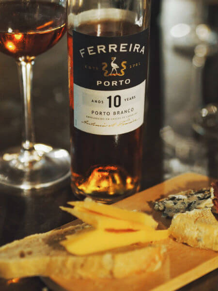 Blend-All-About-Wine-Ferreira 10-year-old White Port-Tasting