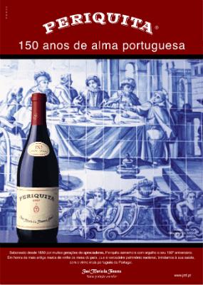 Blend-All-About-Wine-Periquita-150anos pub-2 periquita The time when there were (almost) zero brands of wine in Portugal Blend All About Wine Periquita 150anos pub 2