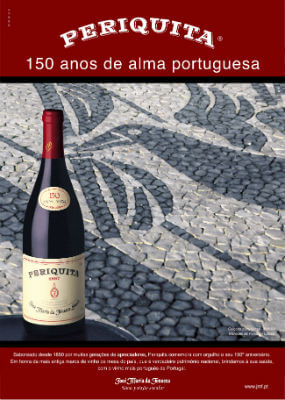 Blend-All-About-Wine-Periquita-150anos pub-3 periquita The time when there were (almost) zero brands of wine in Portugal Blend All About Wine Periquita 150anos pub 3