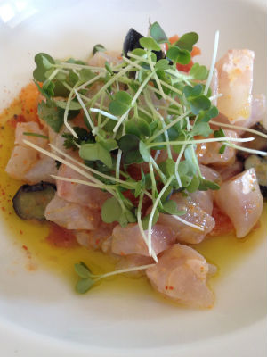 Blend-All-About-Wine-Churchill's new Image-Marinated Sea Bass