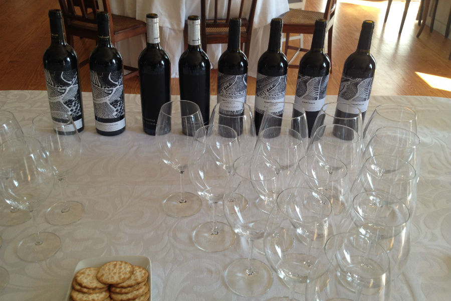 Blend-All-About-Wine-Churchill's new Image-The wines