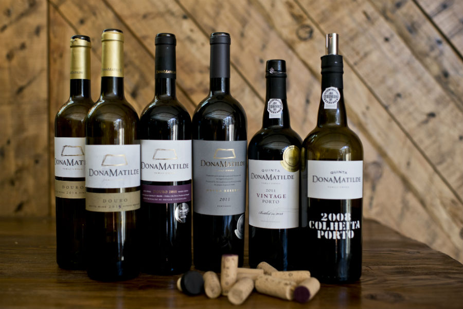 Blend-All-About-Wine-Quinta Dona Matilde-presentation-The Wines