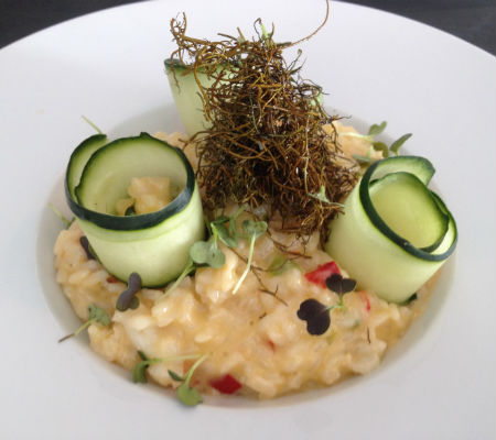 Blend-All-About-Wine-Maria Pia Restaurant-Cod risotto