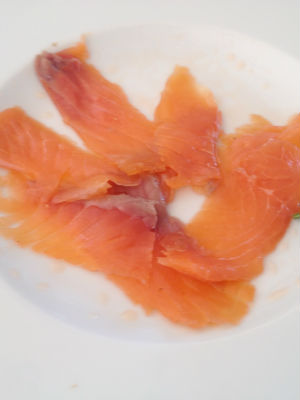 Blend-All-About-Wine-Quinta da Lapa-Smoked Salmon
