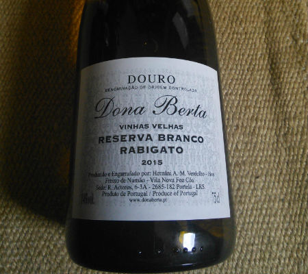 Blend-All-About-Wine-Dona Berta-Reserva Branco Rabigato 2015 dona berta Dona Berta wines, the lasting of a will Blend All About Wine Dona Berta Reserva Branco Rabigato 2015